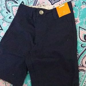 "Gymboree Navy ""Prep"" fit Khaki Short"